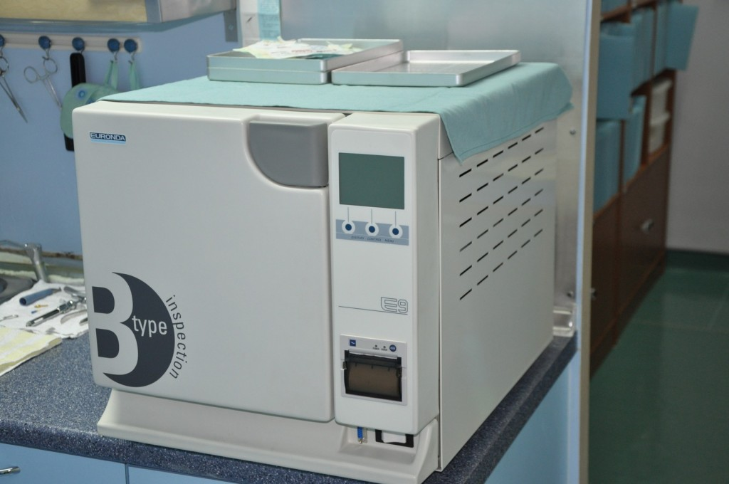 Autoclave type B